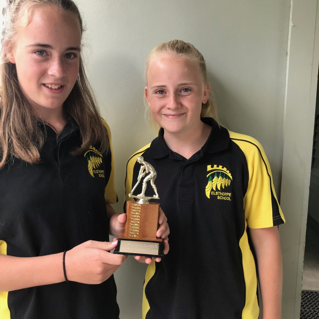 Grace & Rosie Jonasen Most Improved Player In  Hockey