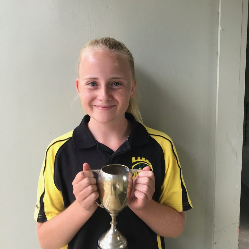 Rosie Jonasen Golden Cup For Netball