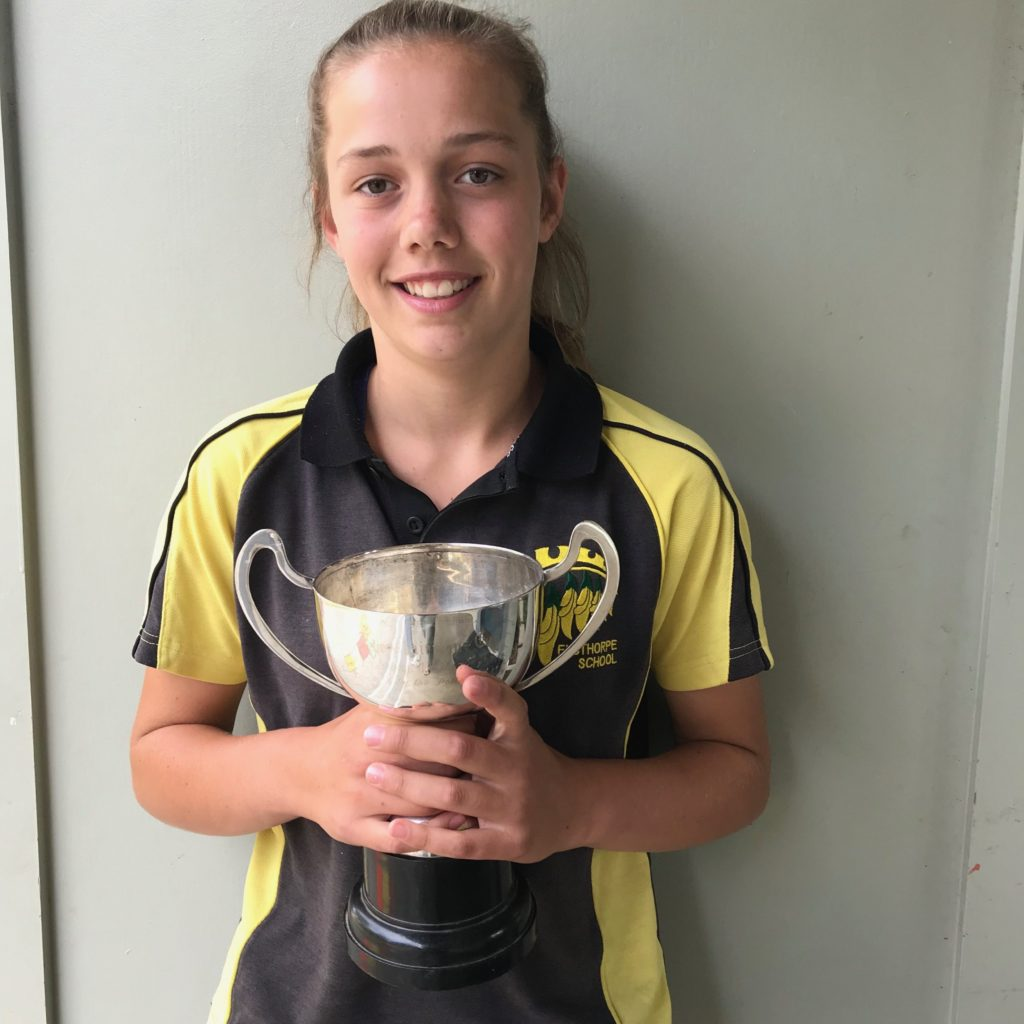 Madeline Laugesen  Elsthorpe Schools Sportsperson Of The Year